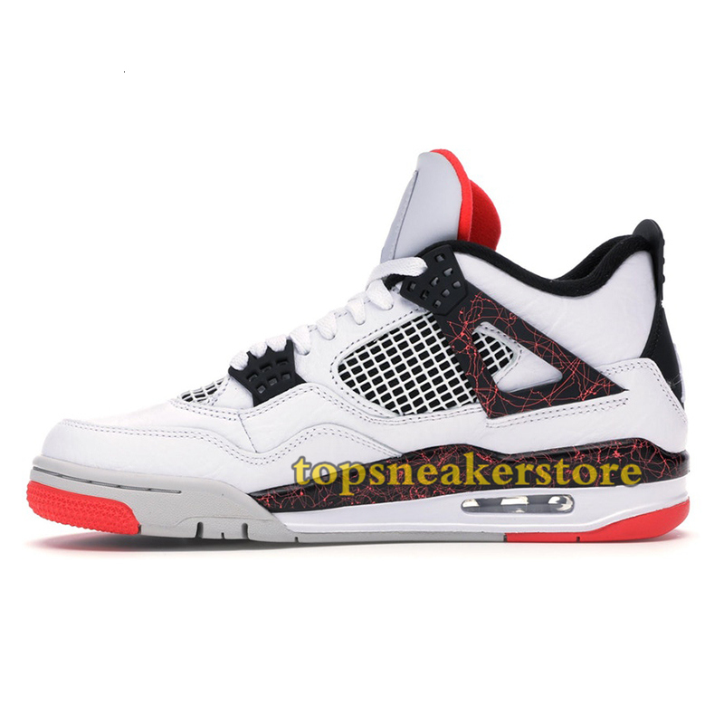 What The Jumpman 4 4s Mens Basketball Shoes Winterized Loyal Blue Cool Grey Bred Fiba Hot Punch Thunder Fire Red stylist Sneakers 40-47
