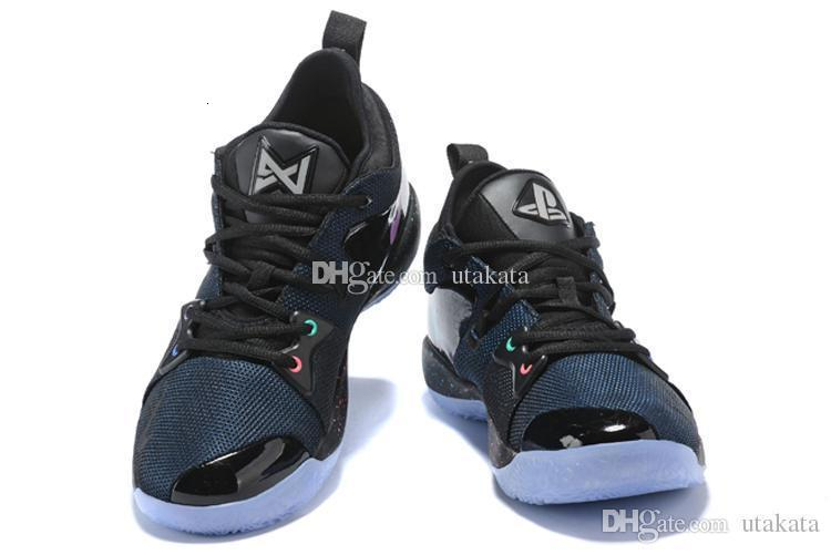 Wholesale PG 2 PlayStation Taurus Road Master Basketball Shoes for Paul George II PG2 2s PS Athletic Sport Sneakers Size 40-46