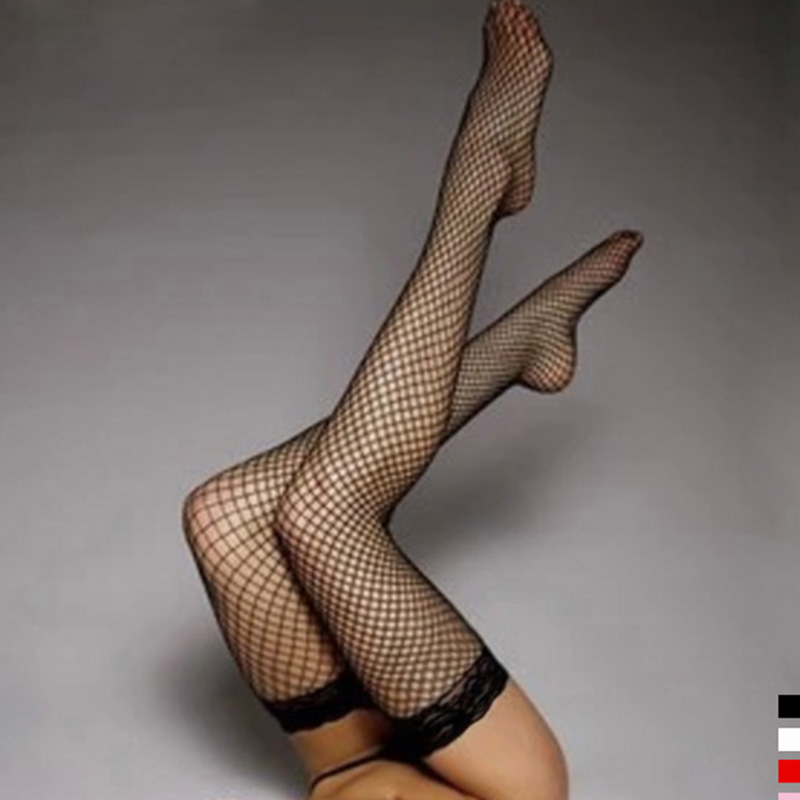 5-Colors-Sexy-Women-s-Hosiery-Lace-Top-Stay-Up-Thigh-High-Stockings-Ladies-Hollow-out