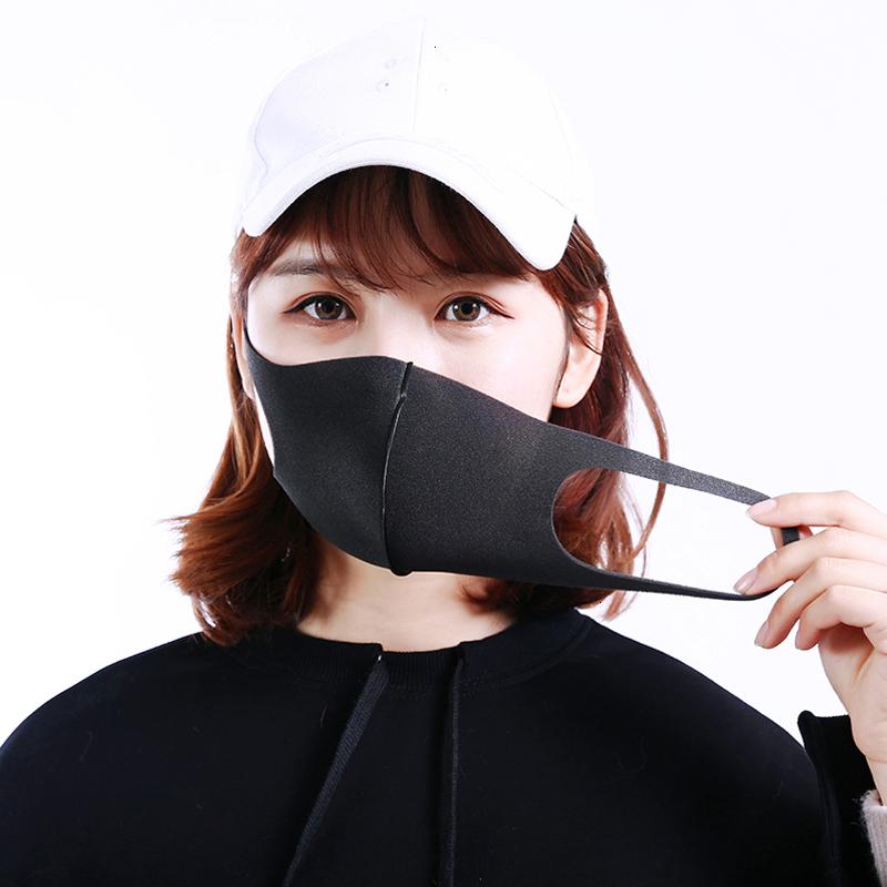 Reusable Anti Dust Mask Anti-allergic bacterial PM2.5 Masks Dustproof Filter Breathable Organic Sponge Face Mask