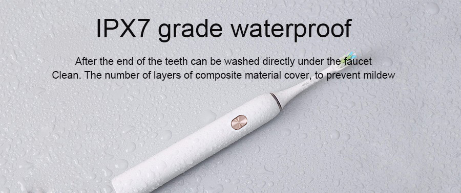 2-SOOCAS X3 SOOCARE Sonic Electric Toothbrush Xiaomi Automatic Ultrasonic Waterproof Tooth brush Rechargeable smart brush adult BT