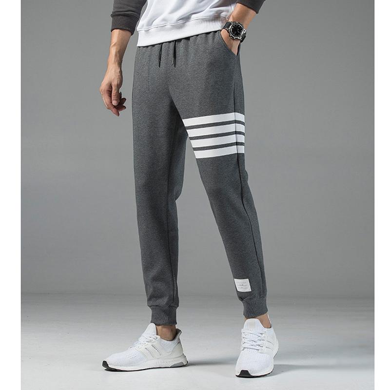 2020 new men's pants essentials men's trousers hip-hop sports pants men's three-bar casual pants
