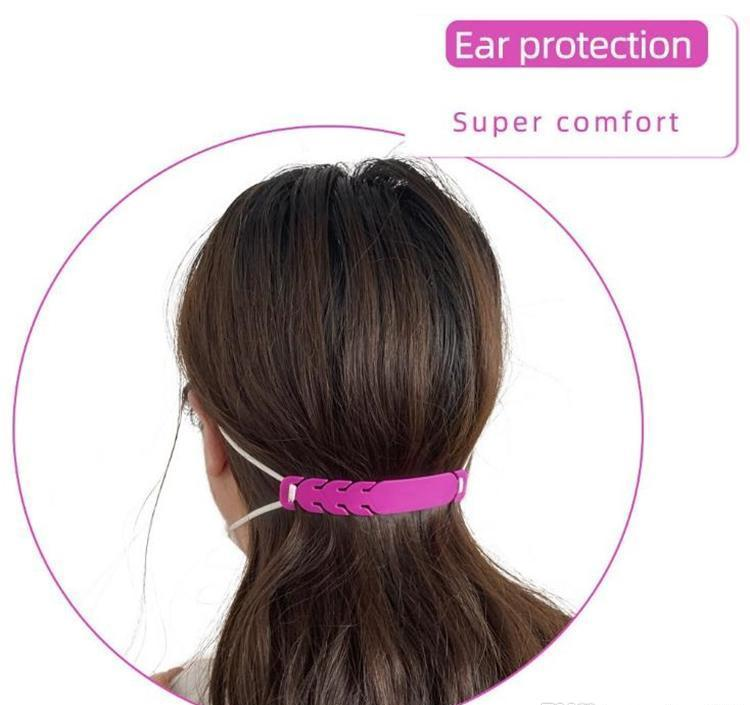 Latex Mask Adjusting For Men And Women General Purpose Ear Protector Type Mask Non Pulling Ear Tool Assist In Relieving Mask Ear qwsEH