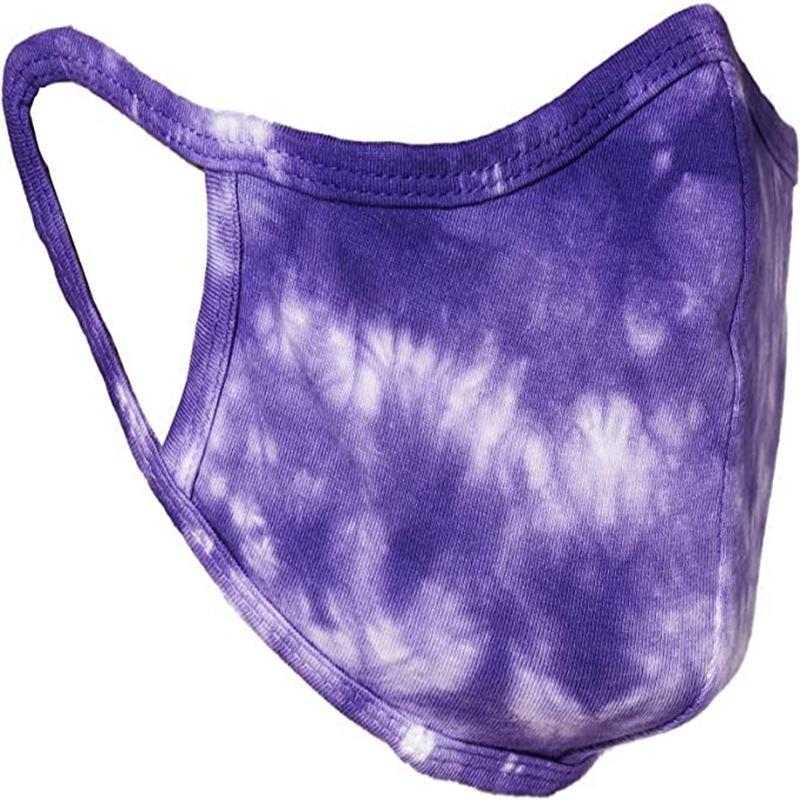Fashion 3D Galaxy Printing Face Mask Flower Cotton Dustproof Outdoor Cycling Cloth Mouth Mask For Washable Resuable /pack HH9-3164