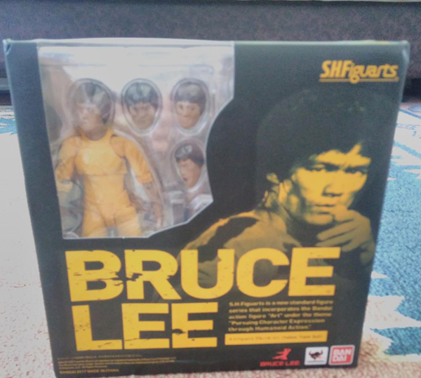 SHFiguarts King of Kung Fu Bruce Lee Variant With Nunchaku Action Figure Collectible Model Toy 15cm (16)