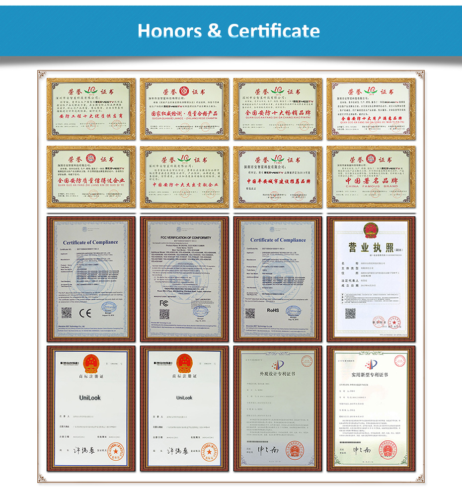 2.Honors & Certificate