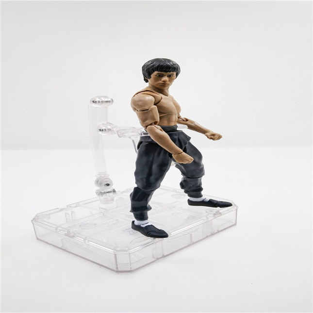 SHFiguarts King of Kung Fu Bruce Lee Variant With Nunchaku Action Figure Collectible Model Toy 15cm (4)