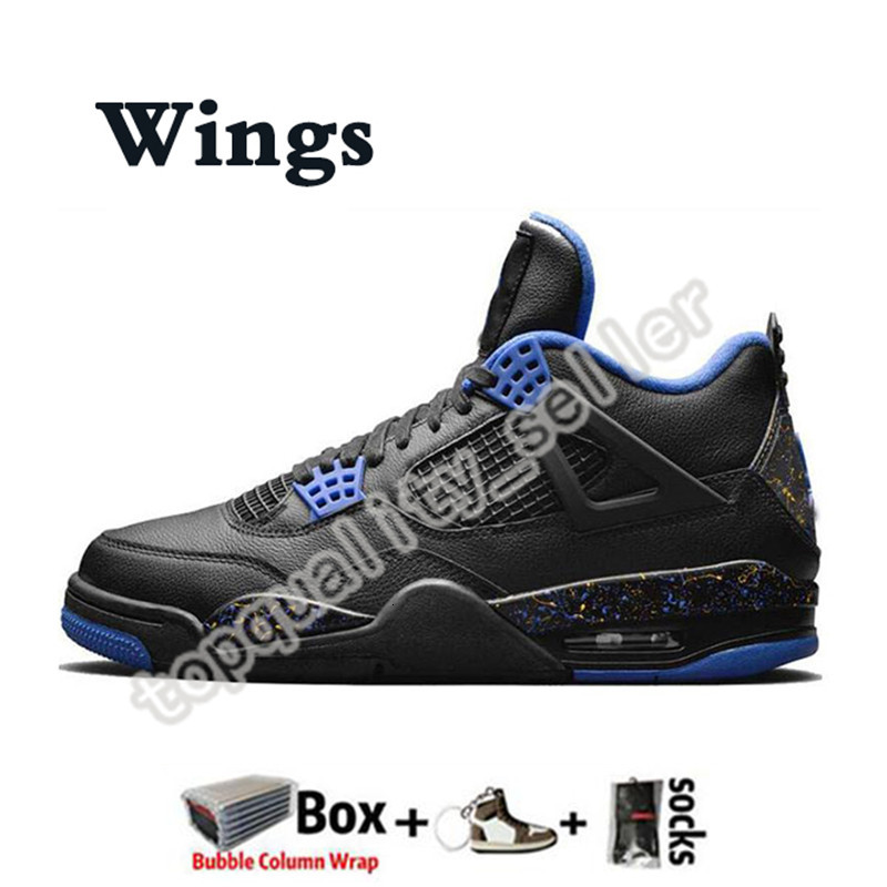 2020 With Box High 4 4s Black cat Wings Jumpman Mens Basketball Shoes Designer Silt Red Neon Thunder Trainers Women Sports Sneakers Size 13