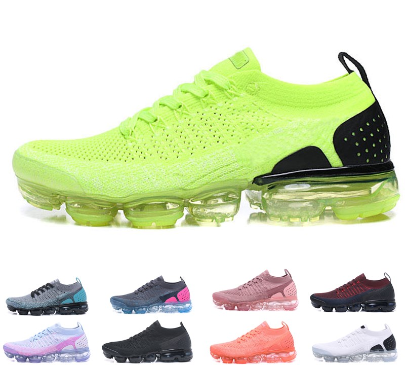 2018 top quality Cushion 2.0 Mens Womens Outdoor Shoes Sneakers Fashion Triple white Black Trainers Shoes 2 Walking Shoes size 36-45