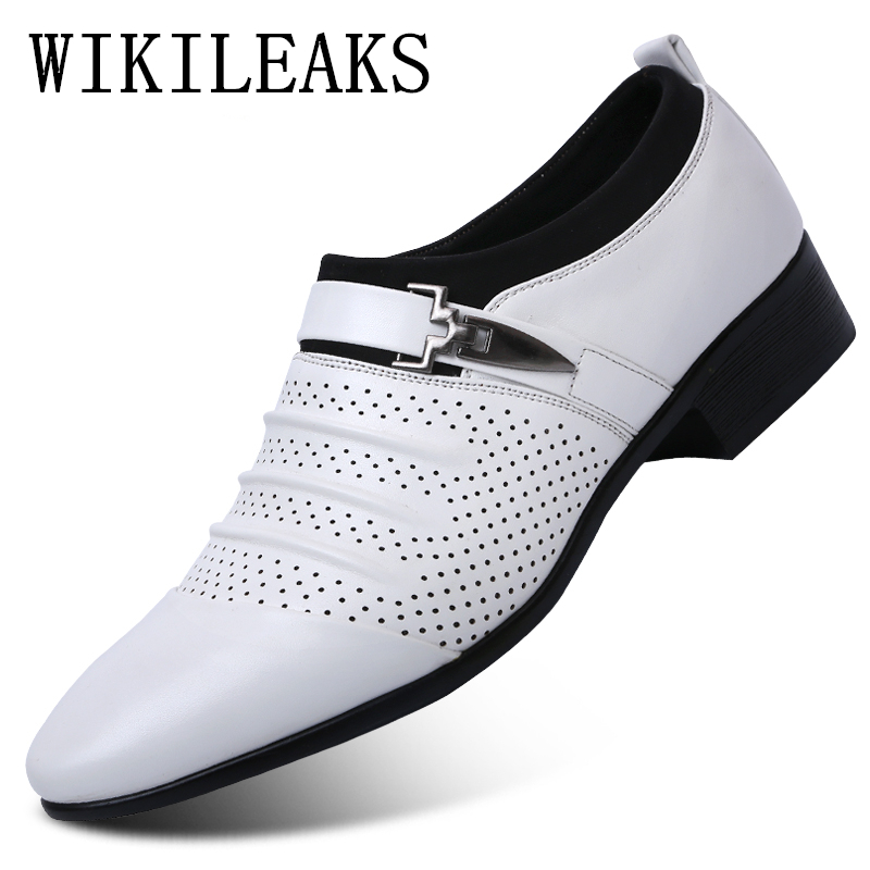 Discount Mens White Formal Shoes   Mens