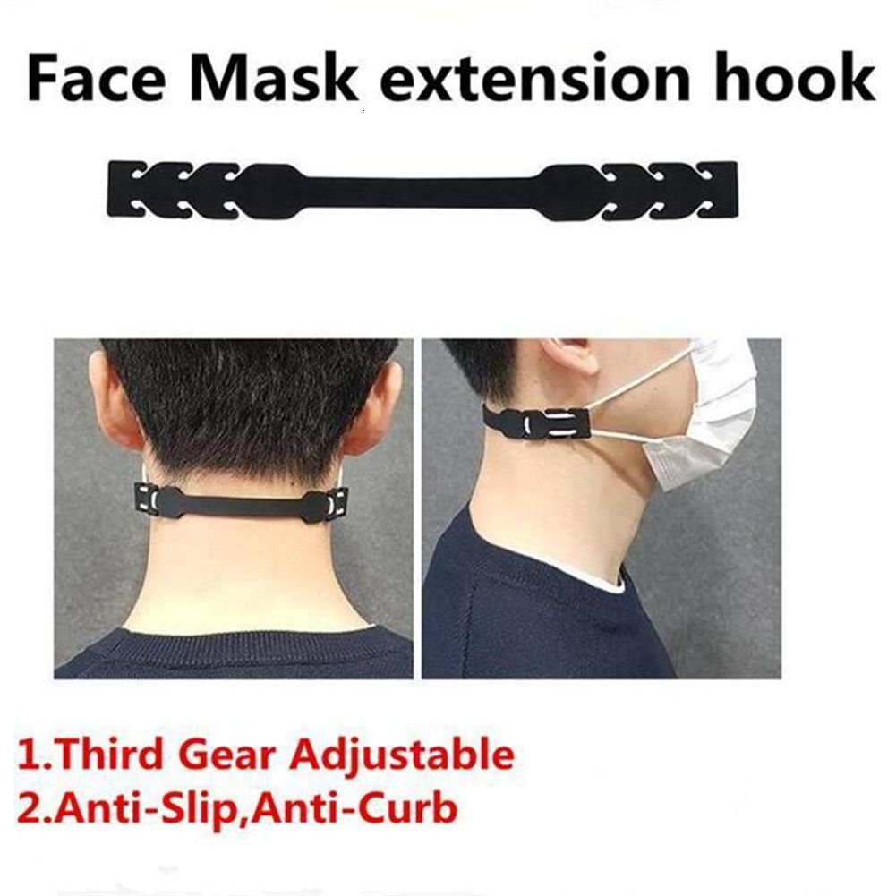 Ear Protector Hook Silicone Bandage Ear Rope Extension Hook Face Masks Buckle Holder Face Mask Hook Ear Buckle With DHL Shipping