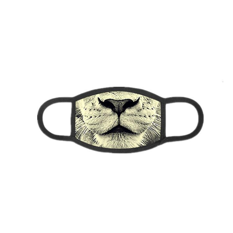 3D Animal Cotton Dust Masks Spring And Autumn Tide Models Personalized Breathable Masks Can Be Cleaned And Reused Xd23431 wfqws mylovethome
