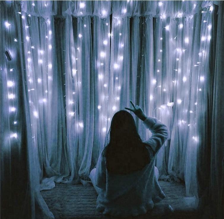 WhiteCurtain Lights