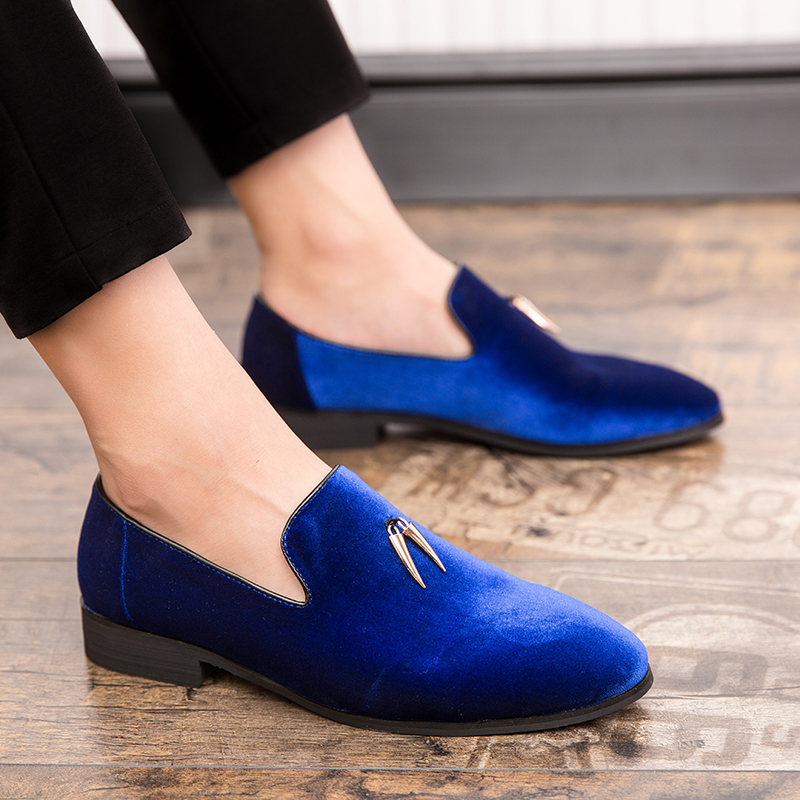 Buy Royal Blue Loafers at DHgate.com