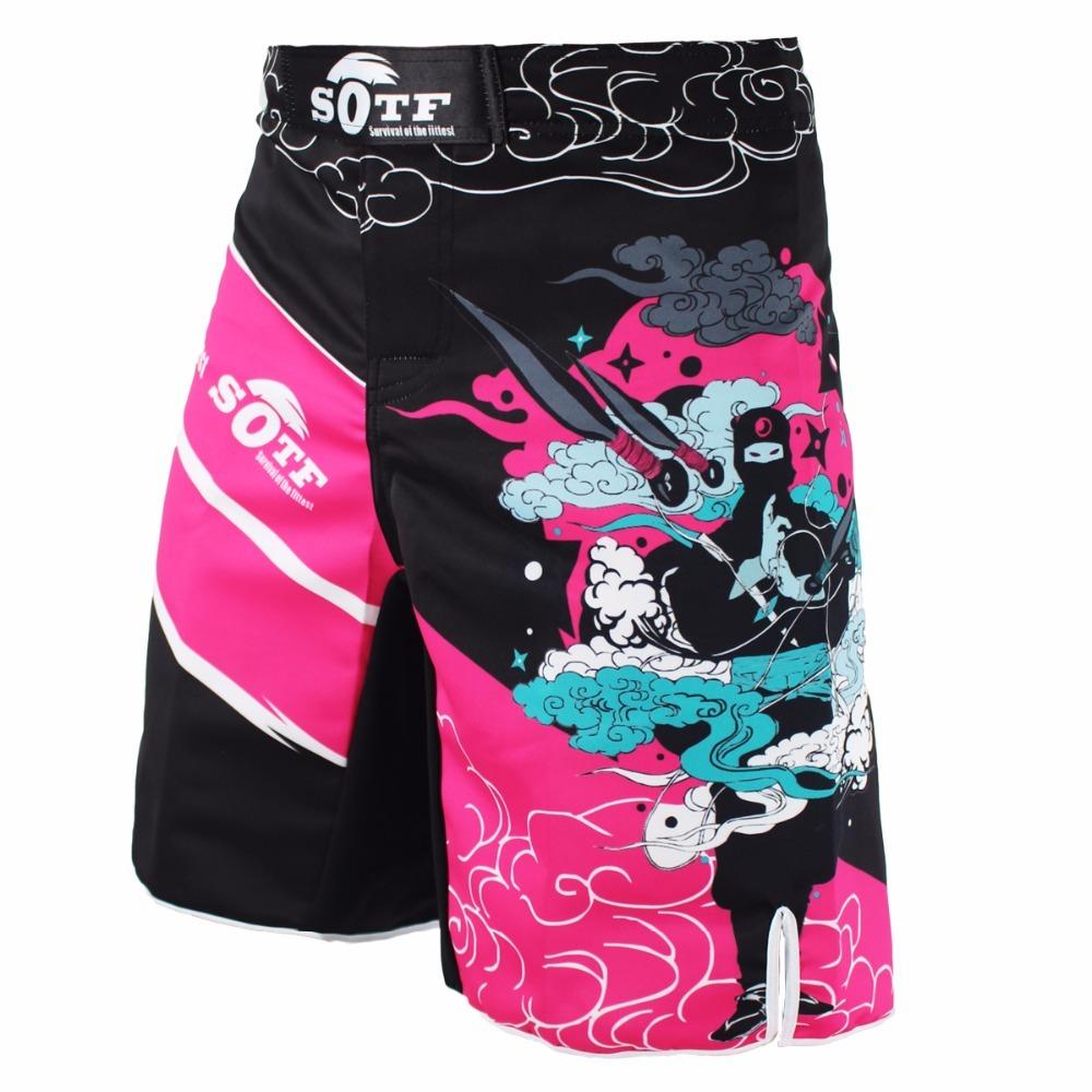 Shorts Boxing Trunks Mma Pants Brock Lesnar Fight Pretorian Muay Thai BoxShorts