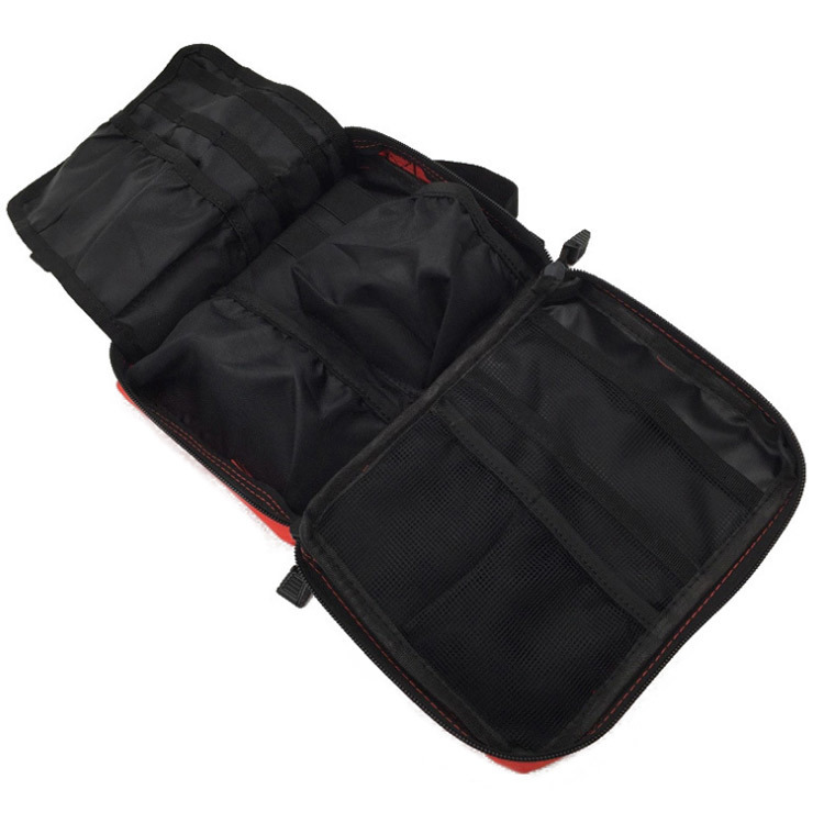 Empty Bag for Emergency Kits Outdoor Multi-function Travel Medical Bag Tactical First Aid Kit Storage Bag Attachment Waist pack (5)