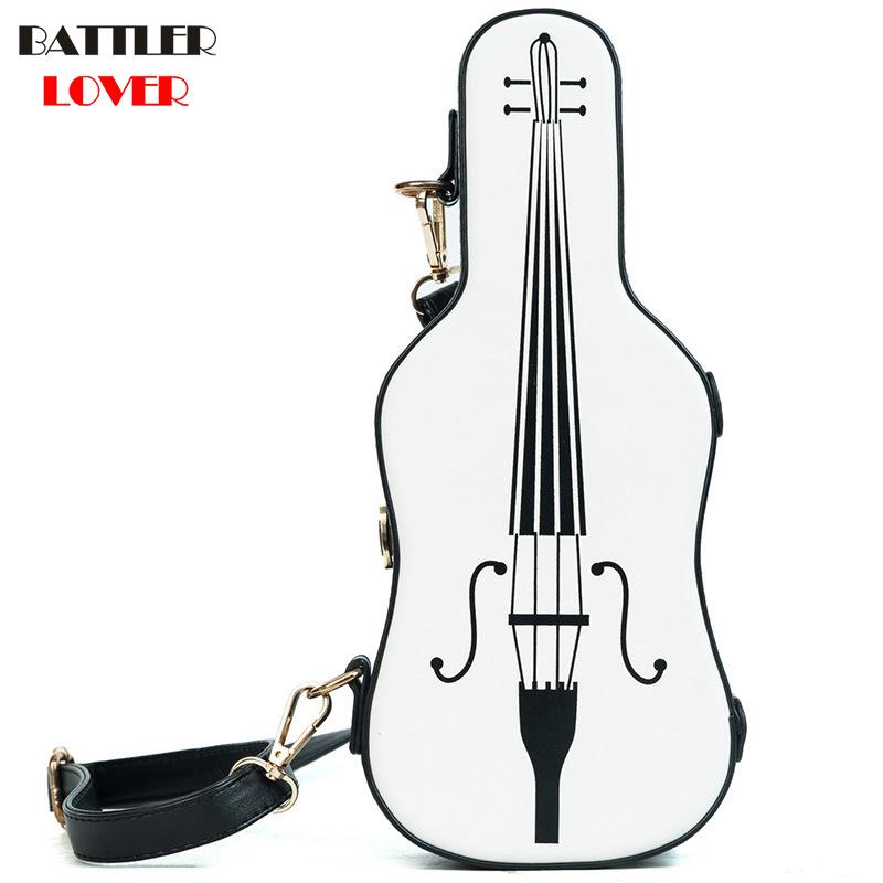Violin Shaped Bag Womens Handbags Crossbody Bags Girl Shoulder Messenger Bag Woman Mujer Handbag for Women
