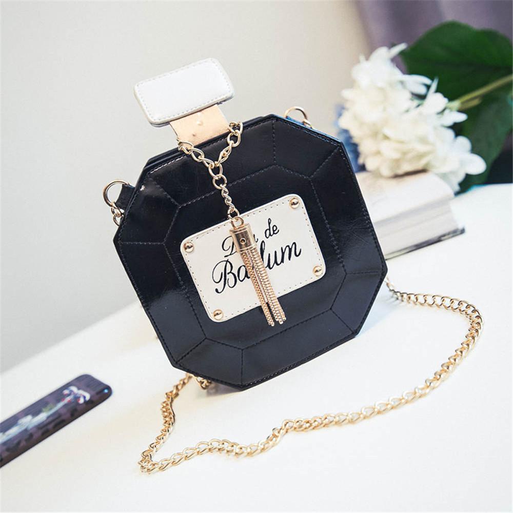Cute Cartoon Women Hamburger Ice cream perfume Mini Bags Small Chain Clutch Crossbody Girl Shoulder Messenger bag Purse Novelty