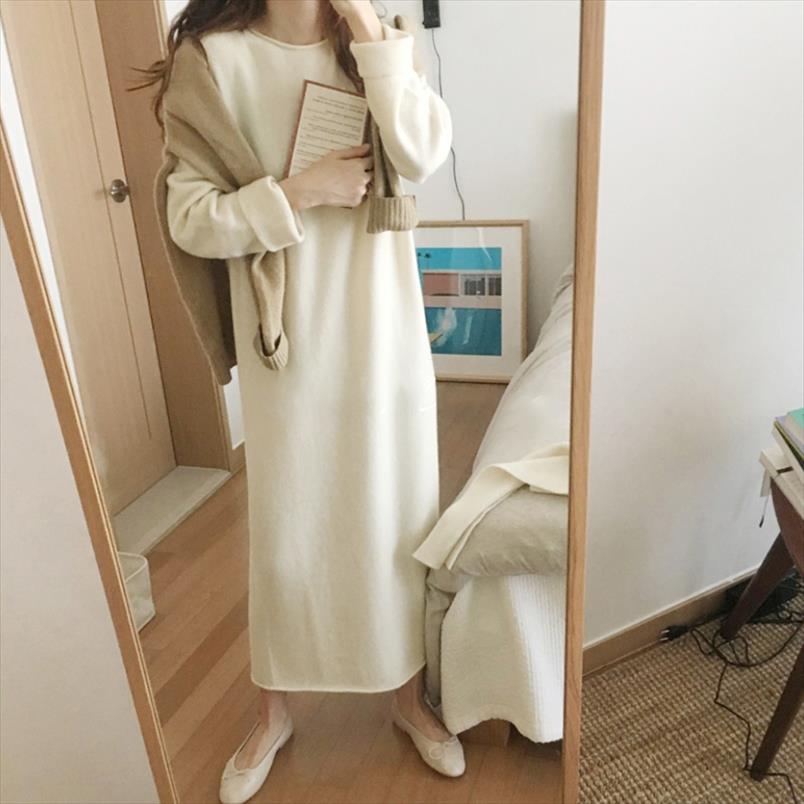 Nosotros Para Mujeres Manga Larga Capucha Cuello de punto Vestido Estampado Cachemir