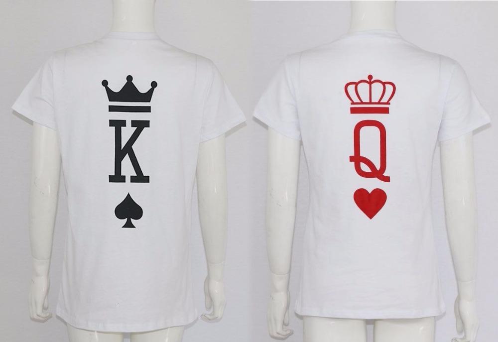Fashion-Graphic-Tumblr-Poker-Stampa-Re-Queen-Cuore-Streetwear-Magliette--di-Estate-Degli-Uomini-Delle