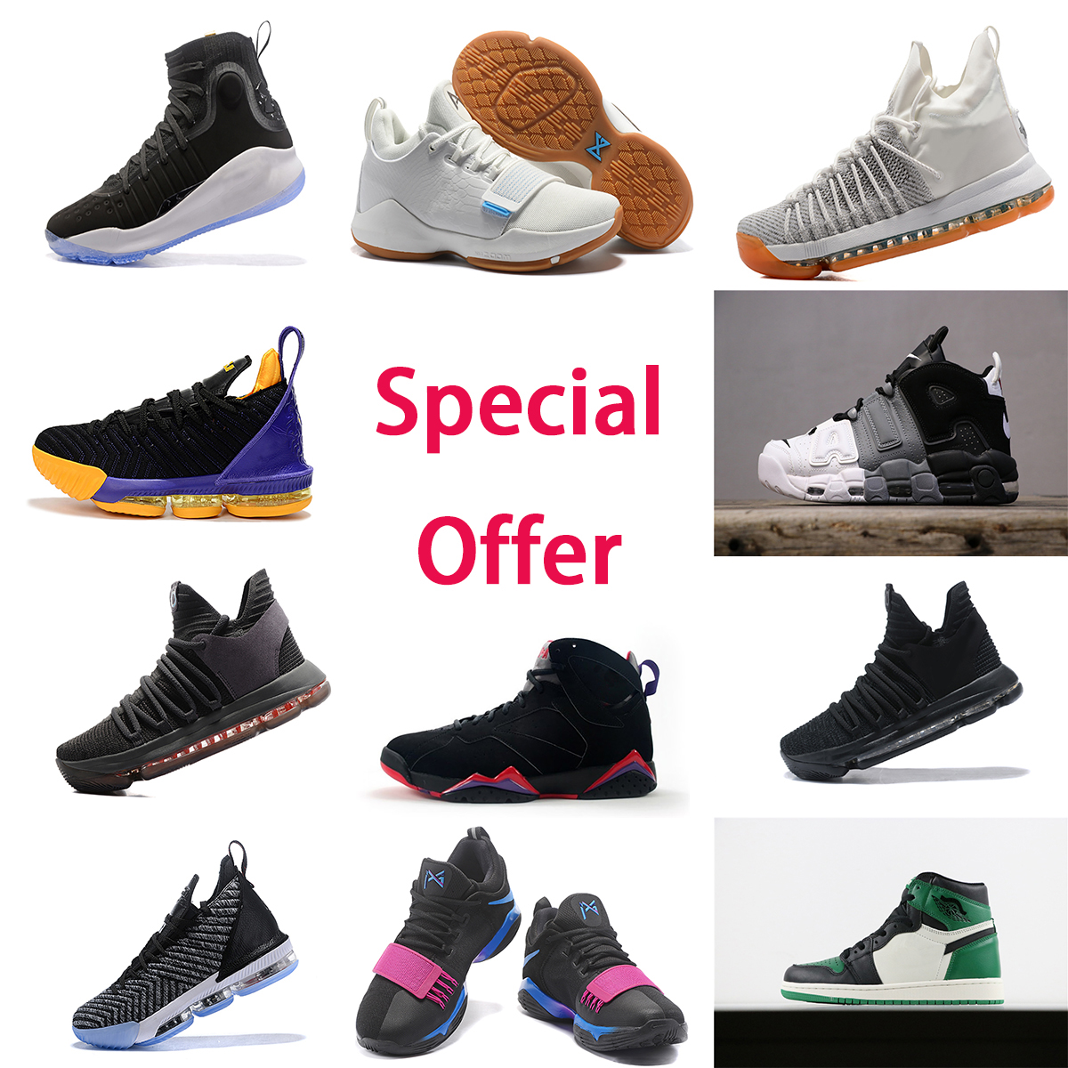 Cheap specials Inventory handling Hot sale basketball shoes PG 1 KD basketball shoes sports shoes free shipping Some sizes are available