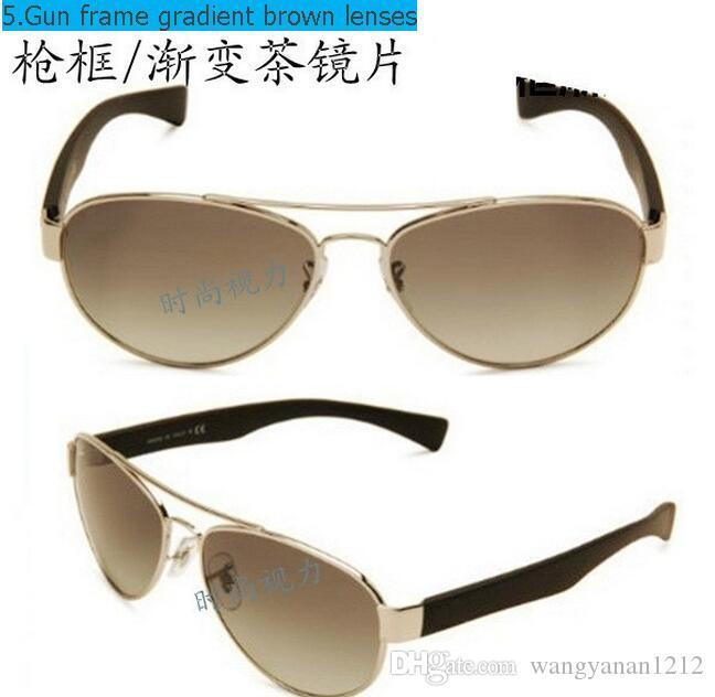 3491 high quality explosion-proof anti-throw toughened glass sunglasses trend of men and women