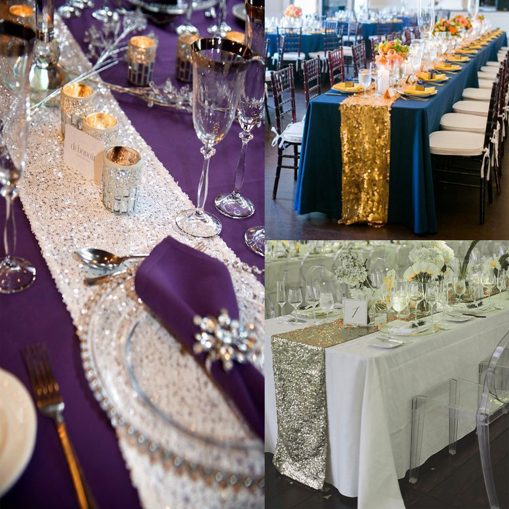 New-Brand-Champagne-Rose-gold-Silver-Gold-Sequin-Table-Runner-For-Wedding-Event-Party-Banquet-Christmas (1)