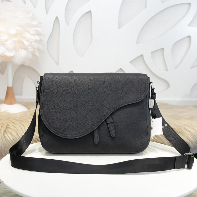 D top quality new men's saddle bag chest bag messenger bag 35X24X6
