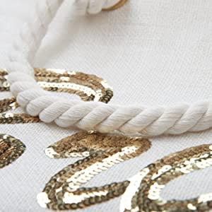 Wedding Bride Tote Bridal Shower Gift for Women wifey honeymoon beach shoulder bag