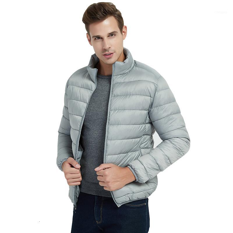Winter Jacket Men Ultralight Stand Collar Bubble Parkas Men Coat Warm Man Winter Coat High Quality Male Clothes1