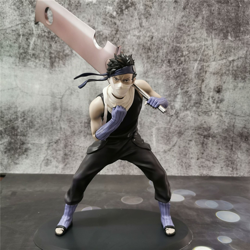 Anime Figure Naruto Momochi Zabuza Shippuden Toy PVC Sword Zabuza Kirigakure no Kijin Model Doll Action Figural Brinquedos Figma