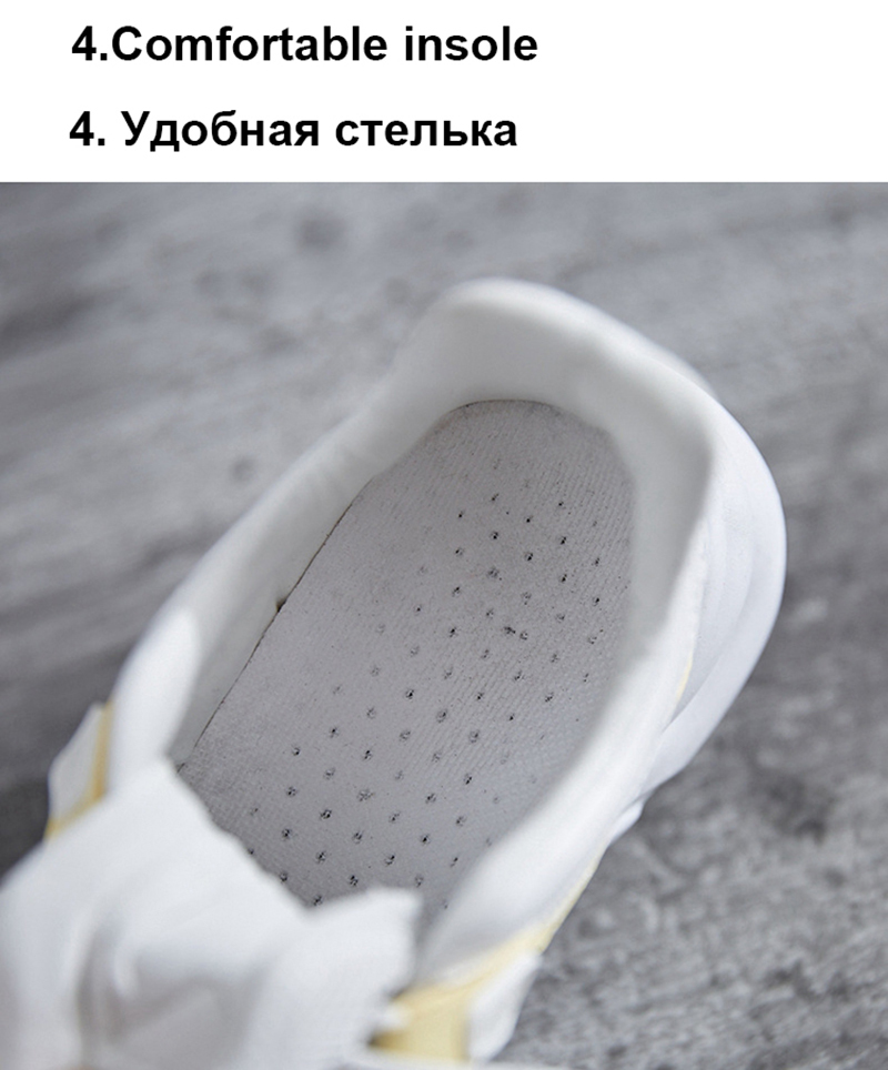 TEMOFON women chunky sneakers women casual vulcanize shoes casual fashion white ladies shoes plus size deportivas mujer HVT602 (28)