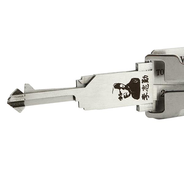 TOY38R 2 in 1 Car Door Lock Pick Decoder Unlock Tool Locksmith Tools