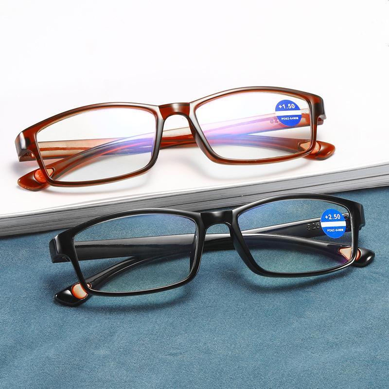 Sunglasses Reading Glasses Men Anti Blue Rays Presbyopia Eyeglasses Antifatigue Computer Retro Eyewear With +1.5 +2.0 +2.5 +3.0 +3.5 +4.0