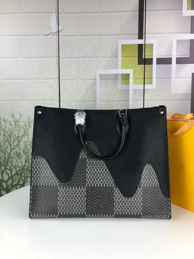 2020 New luxurys designers bags classic cloud rainbow color hit color handbag shopping bag shoulder bag M44569 size 41x34x19cm
