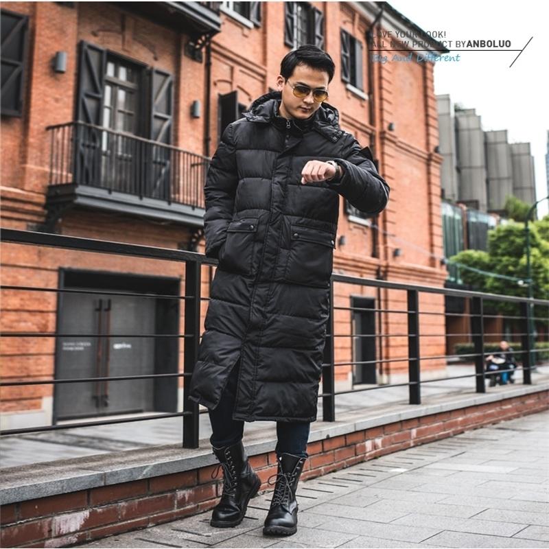 Männer Jackenmantel Männlich Gepolstert Jackenmantel Freizeit Mode Winter