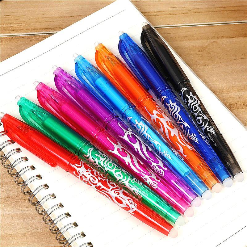 6 Pcs//Lot Pen Ballpen 3 Color grass Style Ballpoint pen for Gift Student