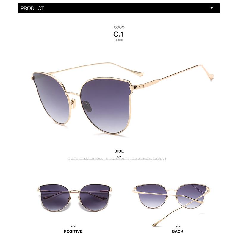 gold frame clear lens glasses (5)