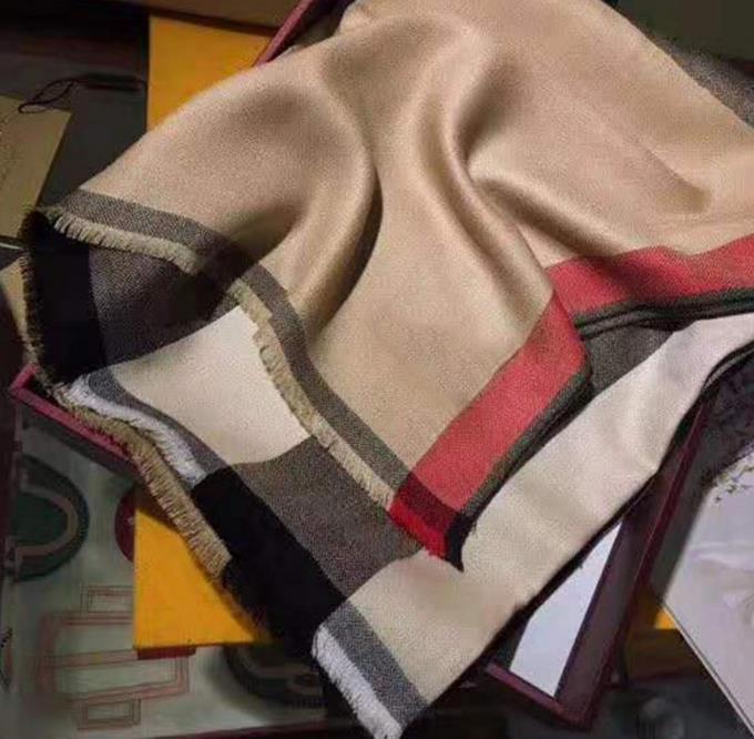 Controllo da Uomo Da Donna Frangia Pile avvolgono Inverno Sciarpe Nappa Soft Caldo Sciarpa in tessuto