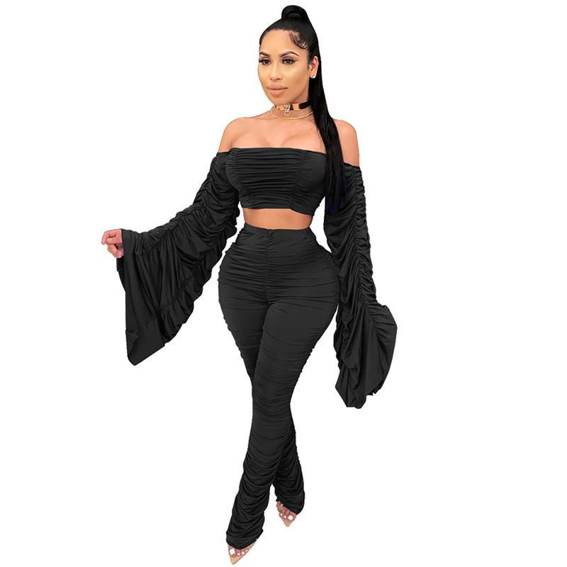 womens set tracksuit shirt pants outfits long sleeve sportswear shirt trousers sweatsuit pullover tights sportswear very klw5060