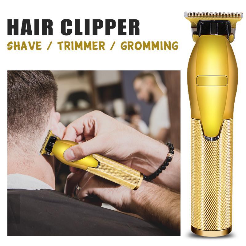 gold-metal-barbershop-shaving-T-blade-trimming-outline-hair-clipper-trimmer-haircut-electric-rechargeable-barber-shaver(2)