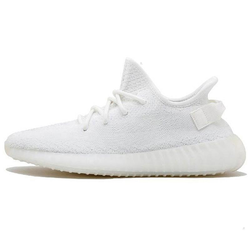 Wholesale V2 Kanye West Zebra Clay Reflective Running Shoes Cloud White Yecheil Running Shoes Citrin Hyperspace Sports Sneakers Size 5-13