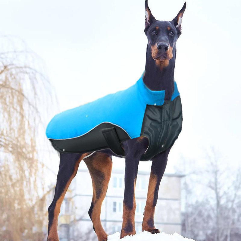 MySudui Small Big Dog Clothes Winter Waterproof Chihuahua Bulldog Fashion Dog Cloth Clothing For Dog Winter Coat Warm Ropa Perro 800