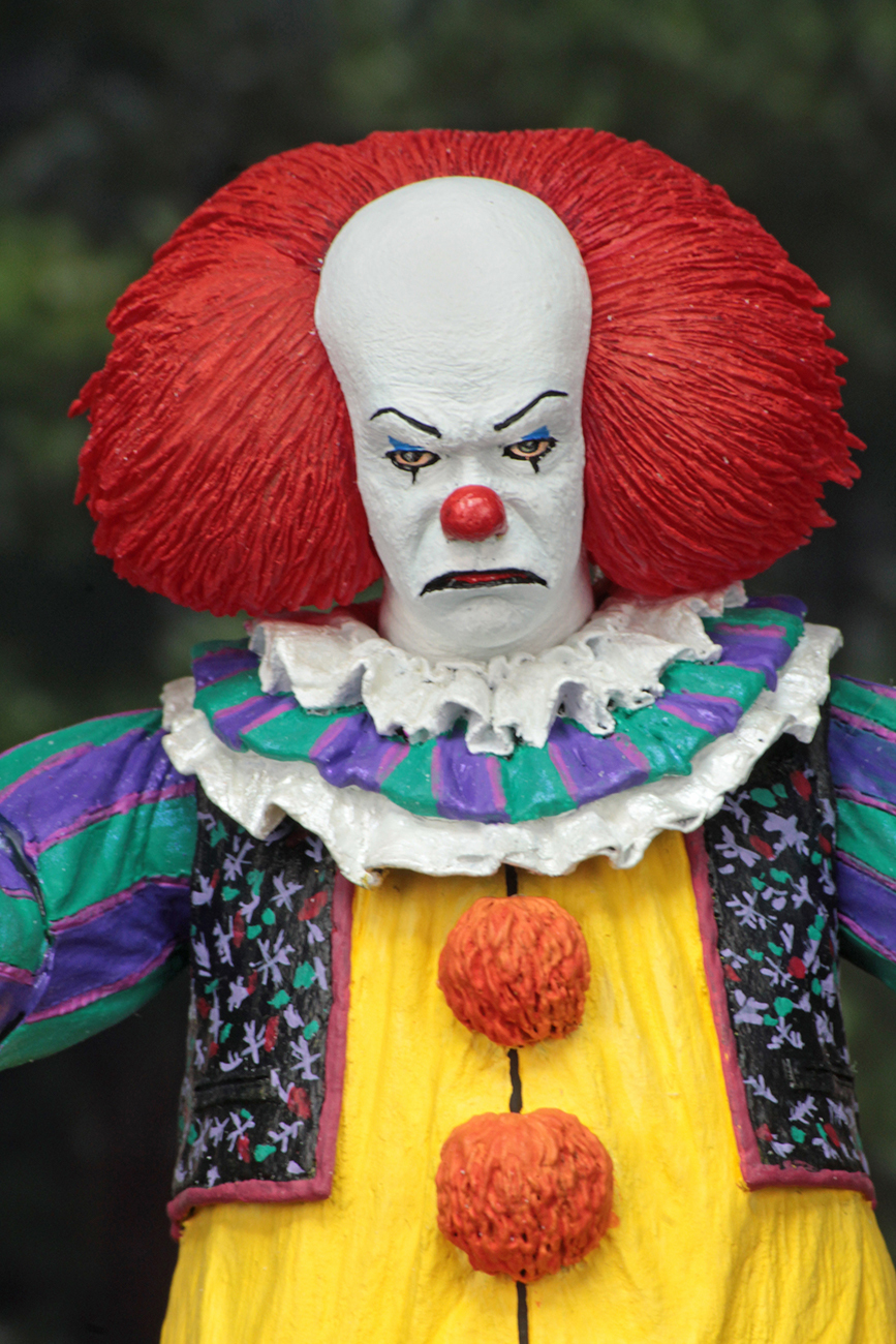 Horror Movie It Character NECA Joker With Balloons Pennywise Action Figure Model Toy for Christmas Halloween Gifts (5)