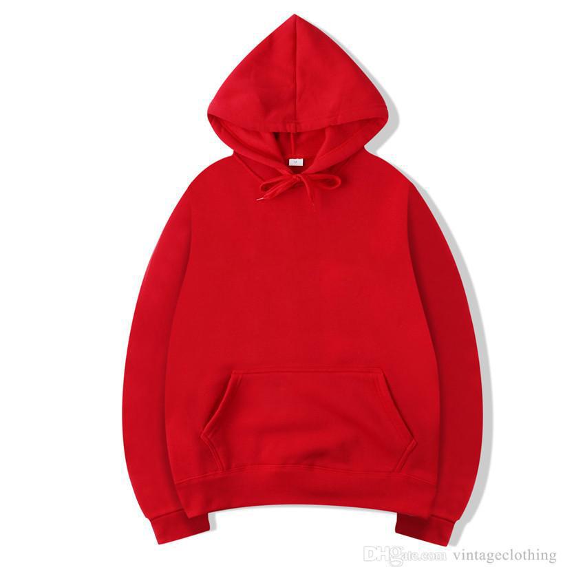 Winter Autumn Hoodie Men Hooded Hip Hop Streetwear Hoodie Long Sleeve Black Gray Hoodies Designer Sweatshirts M-2XL