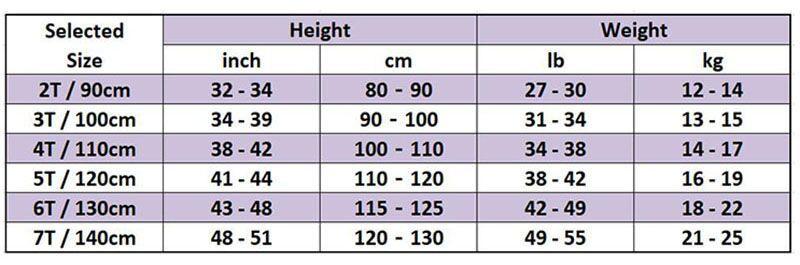 Size Chart 800x800