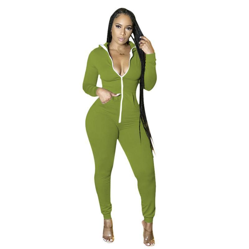womens long sleeve jumpsuit sexy rompers elegant fashion skinny jumpsuit pullover comfortable clubwear hot selling women clothing klw5265