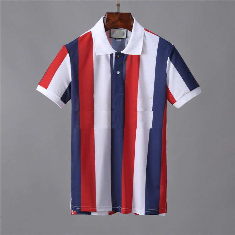 2021 Men's Leisure Polo T-Shirt High Quality Men's Cotton Blend Comfort Short Sleeve Summer High Quality T-Shirt M-3XL G120