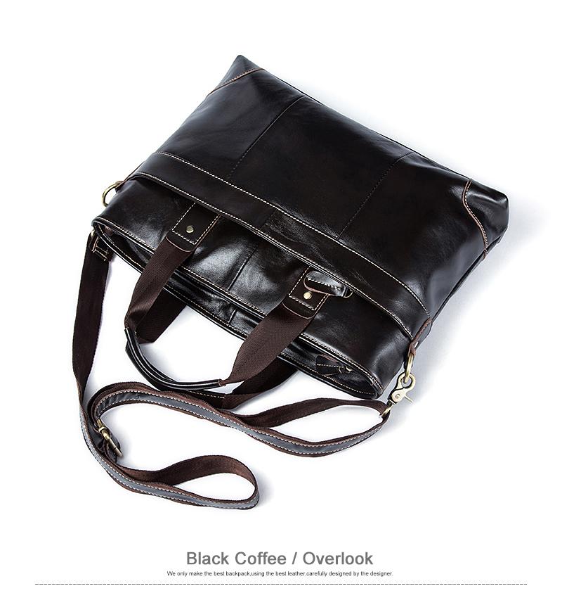 leather men bag