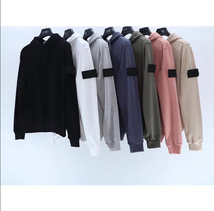 2021 Autumn New Men's Sweatshirts Loose Hoodies Pocket Comfortable Cotton Simple Couple Hoodies 123102
